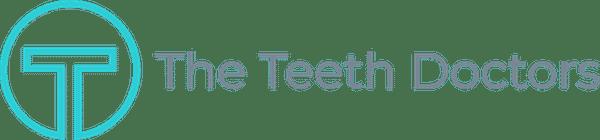 teeth doctors logo teal grey