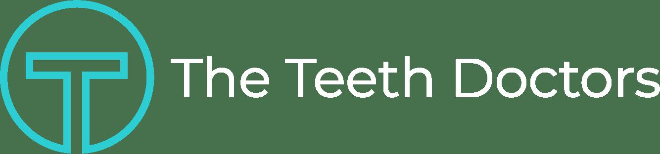 teeth doctors logo teal white