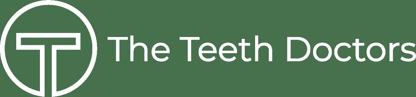 teeth doctors logo white